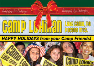Happy Holidays Camp Lohikan Pocono Mountains