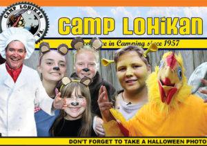 Happy Halloween - Coed Overnight Camp