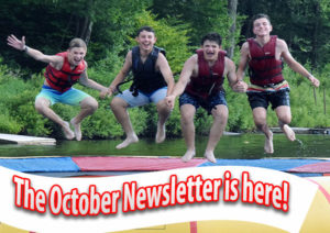 Camp Lohikan-Coed Overnight Camp- October 2019 Newsletter