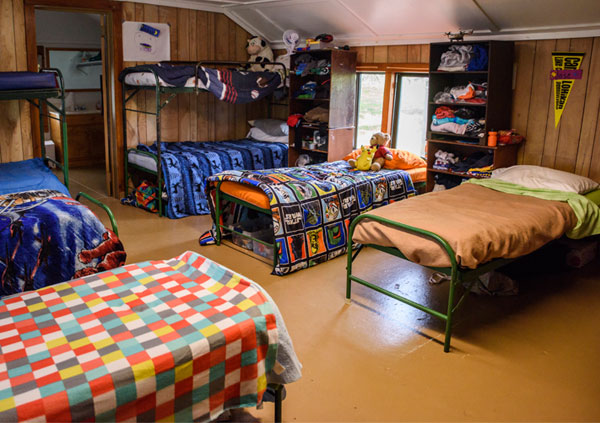 Cabins At Camp Lohikan