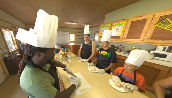 Culinary Arts at Camp Lohikan