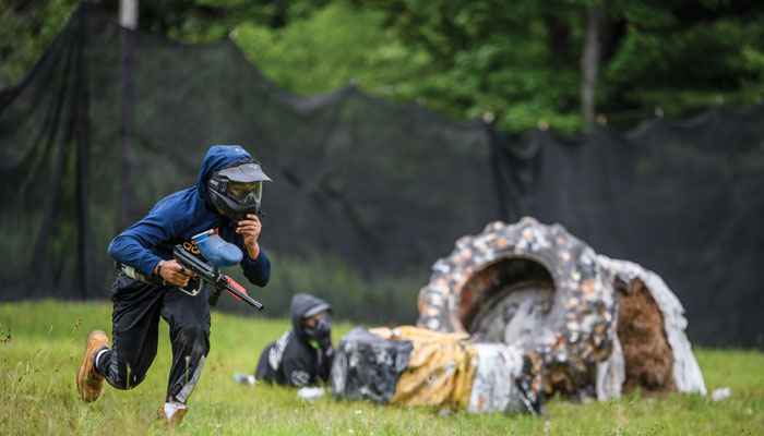 Paintball at Camp Lohikan